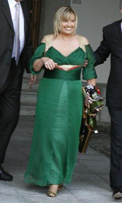 María Teresa Campos de boda